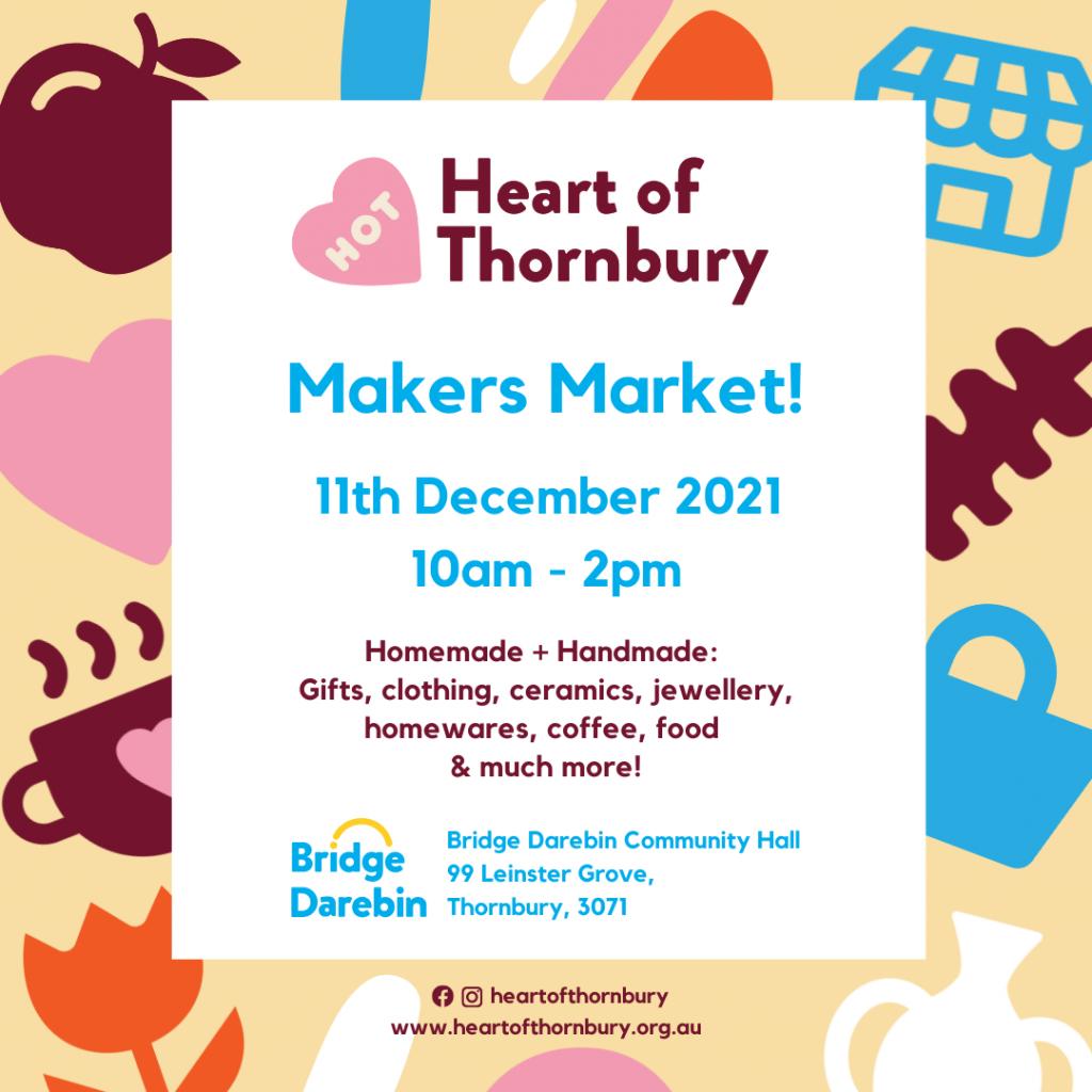 Heart of Thornbury - Makers market